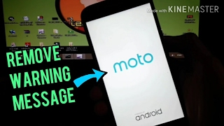 Change BootLogo and Remove Unlocked Bootloader Warning on Moto G4 plus!! by  tech nihal