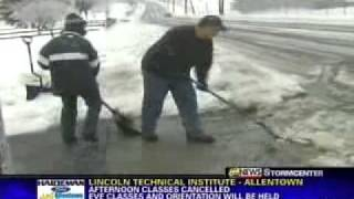 wfmz 69 news at noon winter weather coverage 2 2 11
