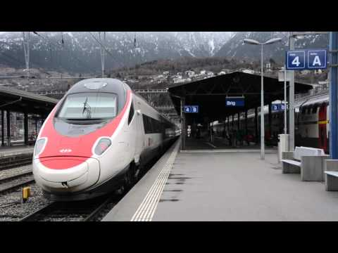 ONE HOUR OF SWISS TRAINS