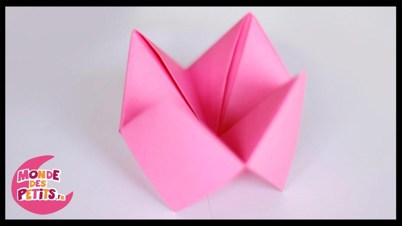 origami la sali re en papier ou le quizz de la cocotte youtube. Black Bedroom Furniture Sets. Home Design Ideas