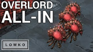 StarCraft 2: CRAZY GAME - Overlord All-In?! (Bly vs Dream)