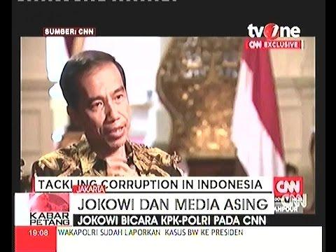 Keanehan Saat Jokowi Di Wawancara Oleh CNN International