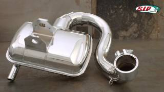 Racing Exhaust SIP ROAD 2.0 VESPA by SIP-SCOOTERSHOP