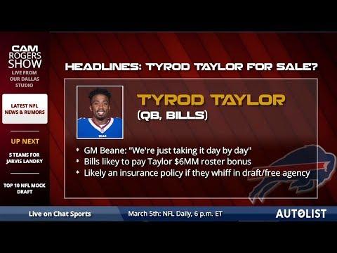 Latest NFL News, Headlines, & Rumors: Jarvis Landry Trade, Johnny Manziel, & Dez Bryant's Status - 동영상
