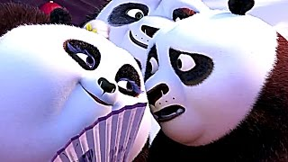 KUNG FU PANDA 3 Movie Clip 'Mei Mei's Ribbon Dance'