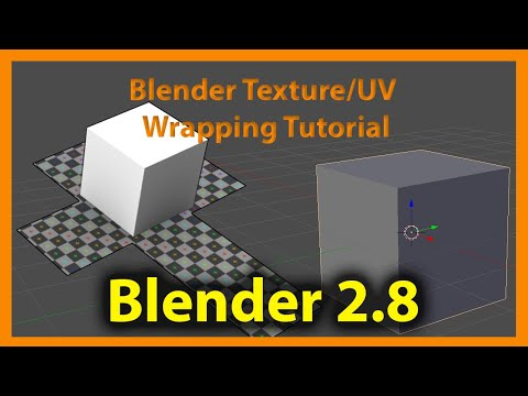 How To Add Textures In Blender 2.8 (UV Unwrapping For Beginners)