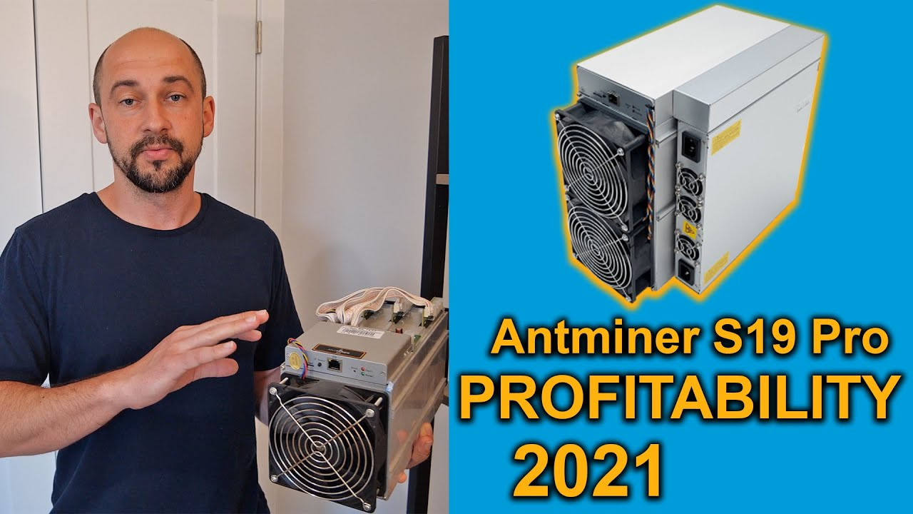 Download Antminer S19 Pro Profitability in 2021