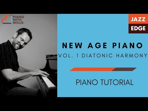 New Age Piano Vol. 1 - Diatonic Harmony Review - Piano Tutorial by JAZZEDGE
