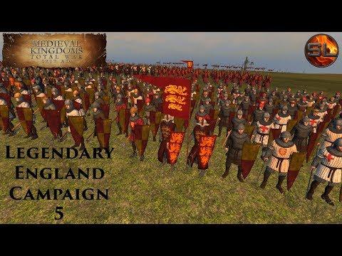 Total War: Atilla - Anno Domini 1080 - Medieval Kingdoms: Legendary England Campaign #5