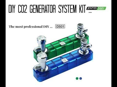 D501 DIY Co2 Generator System Kit | WaterPlantStreet