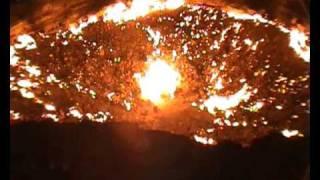 DARVAZA GAS CRATER IN TURKMENISTAN - DOOR TO HELL