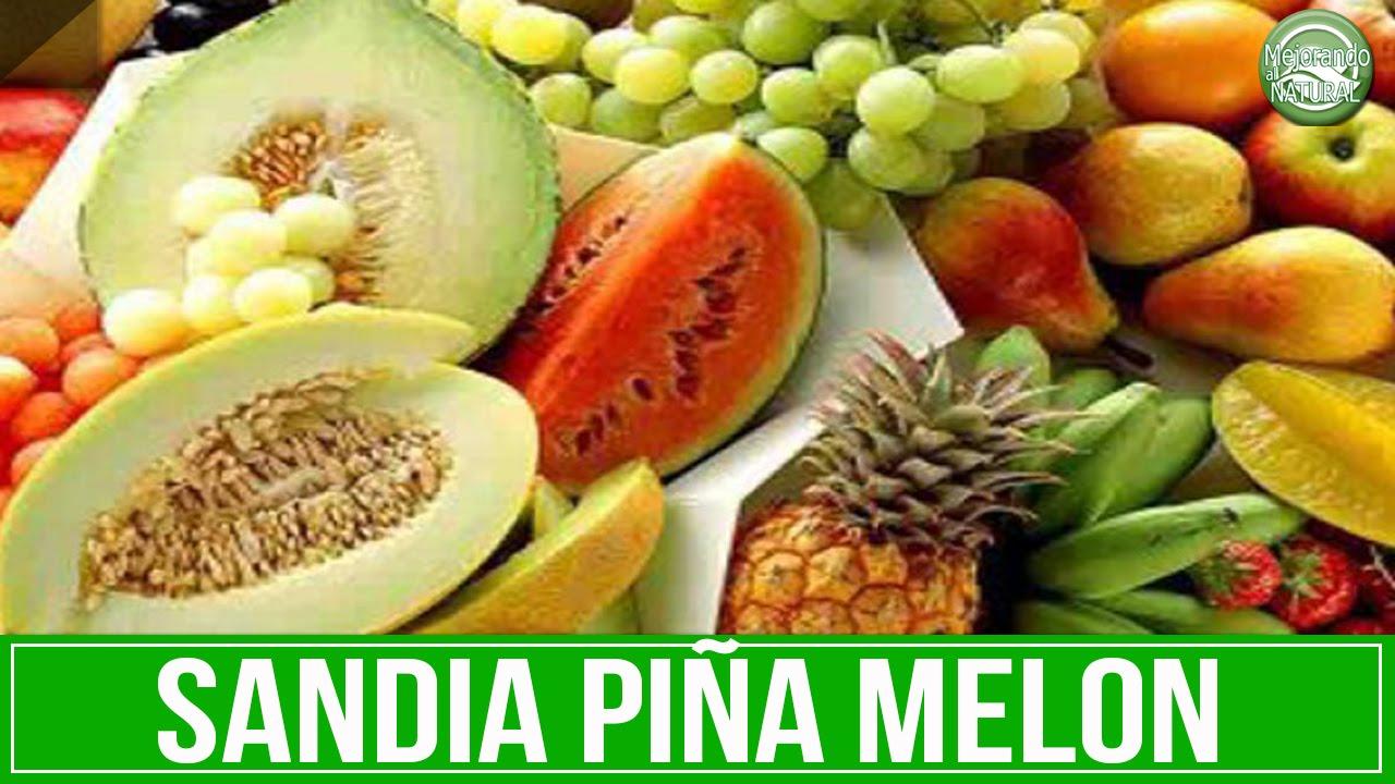 dieta de pina melon y sandia