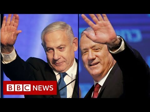 Israel election: Netanyahu and rival headed for deadlock - BBC News