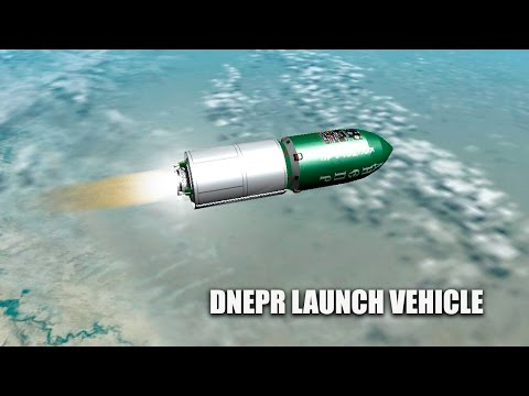 Dnepr Launch Vehicle - Orbiter Space Flight Simulator
