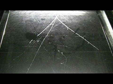 Compilation of Impressive Cosmic Ray Interactions in a Cloud Chamber (Altitude : 2877 m) [1080p]