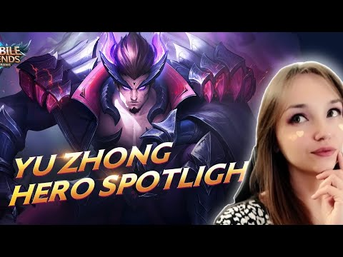 NEW! Insane Hero Black Dragon - Yu Zhong | Mobile Legends: Bang Bang