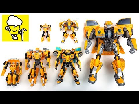 Bumblebee Movie 2018 Volkswagen Beetle Car Toys For Kids With Transformer トランスフォーマー 變形金剛