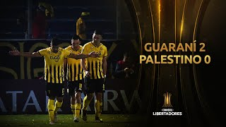 Guaraní vs. Palestino [2-1] | GOLES Y RESUMEN | Fase 3 (Vuelta) | CONMEBOL Libertadores 2020