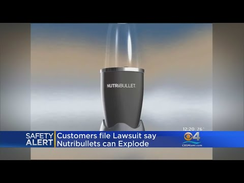 'NutriBullet' Users File Lawsuit, Claim Defect Cut & Burned Them