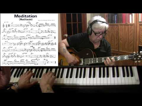 Meditation - guitar & piano jazz cover - Yvan Jacques