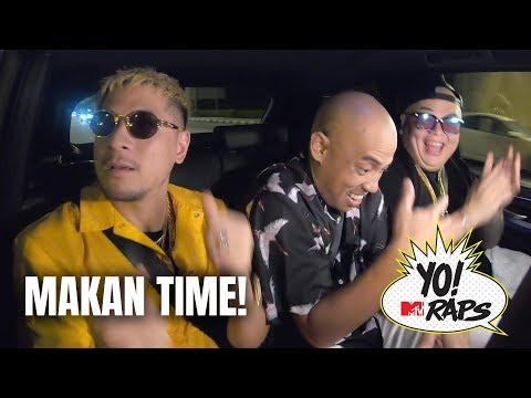 Rappers Rollin': Joe Flizzow & Daboyway cruise Kuala Lumpur looking for nasi lemak (Yo! MTV Raps)