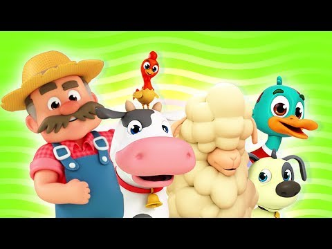 Old MacDonald Had A Farm | Nursery Rhymes & Kids Songs For Children