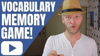 Vocabulary Games | Esl Vocabulary Game | Funny Vocabulary Memory Game For Class Or Home