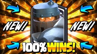 THE STRONGEST MEGA KNIGHT DECK I'VE EVER SHARED!! 100% WINS!