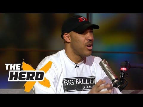 LaVar Ball  in studio to talk Lonzo Ball's NBA future and more | THE HERD (FULL INTERVIEW)