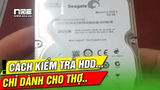 test HDD, test ổ cứng, kiểm tra ổ cứng