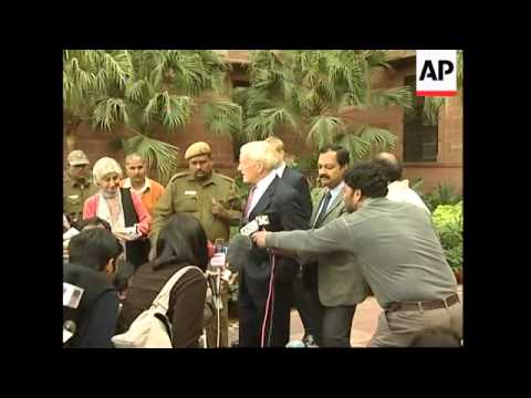 News conference by US Ambassador to India