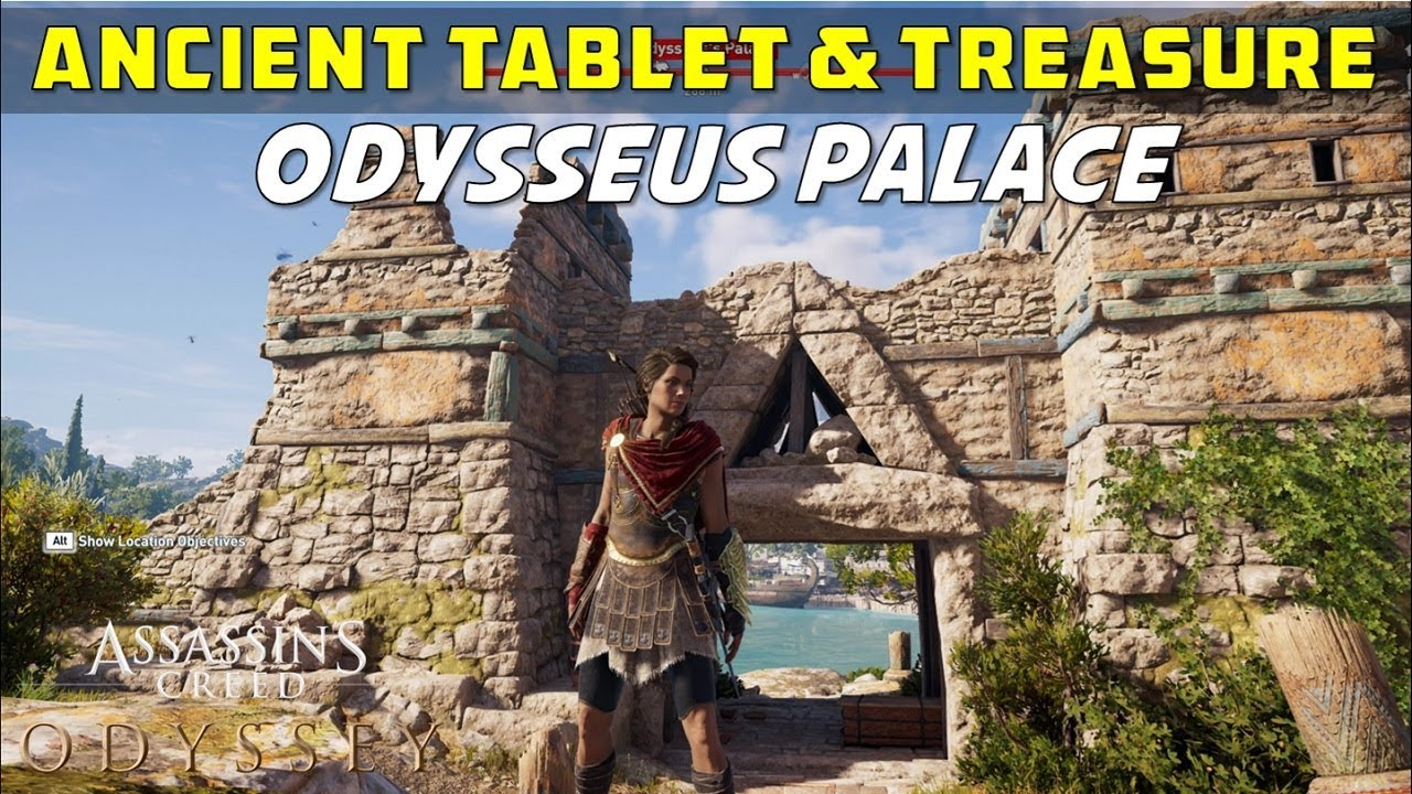 Odysseus S Palace Location Of Ancient Tablet And Loot Treasure