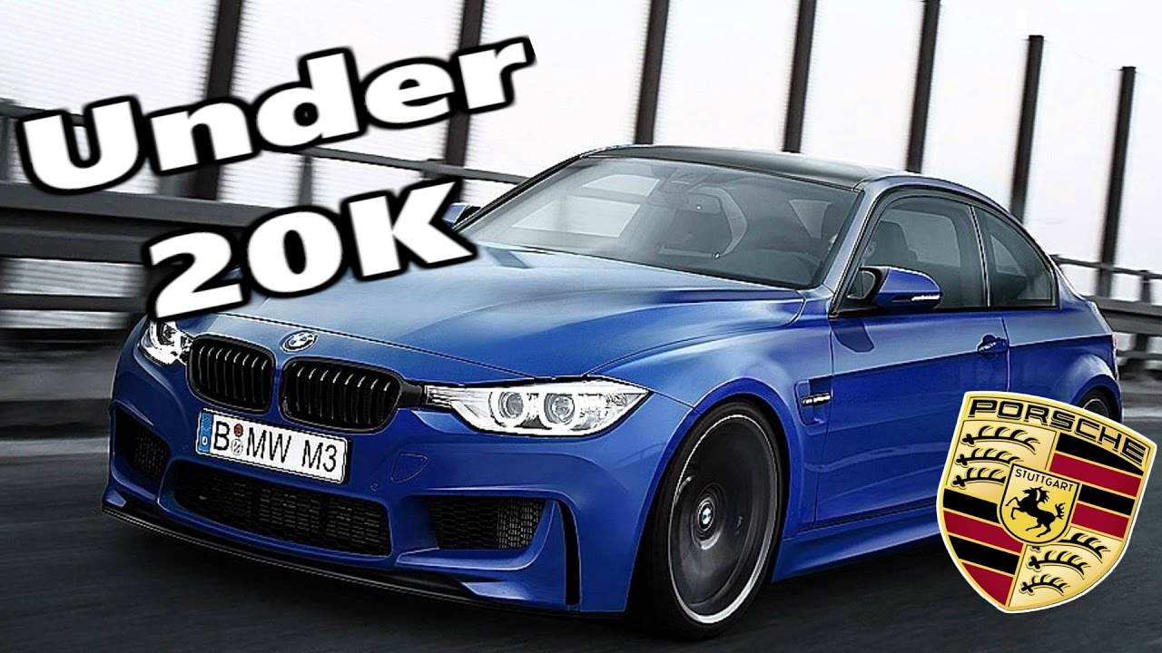 Top 5 Sporty Cars Under £20,000 | Cheap Sports Cars | BMW | Porsche |    YouTube