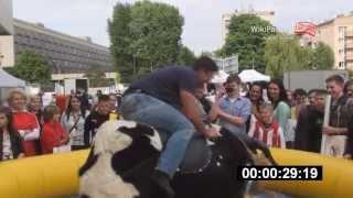 26.05.2013 III Pasiasty Dzień Dziecka - hokeistów pojedynek rodeo (WikiPasy.pl)