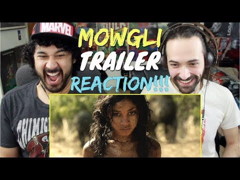 MOWGLI   1st TRAILER REACTION & REVIEW!!!