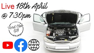 Ford Club GB Live - April 18th