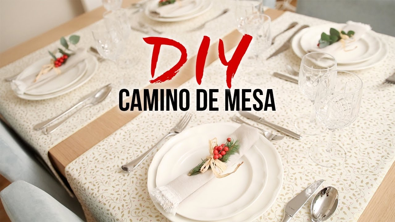 CÓMO HACER UN CAMINO DE MESA REVERSIBLE | DIY COSTURA - YouTube