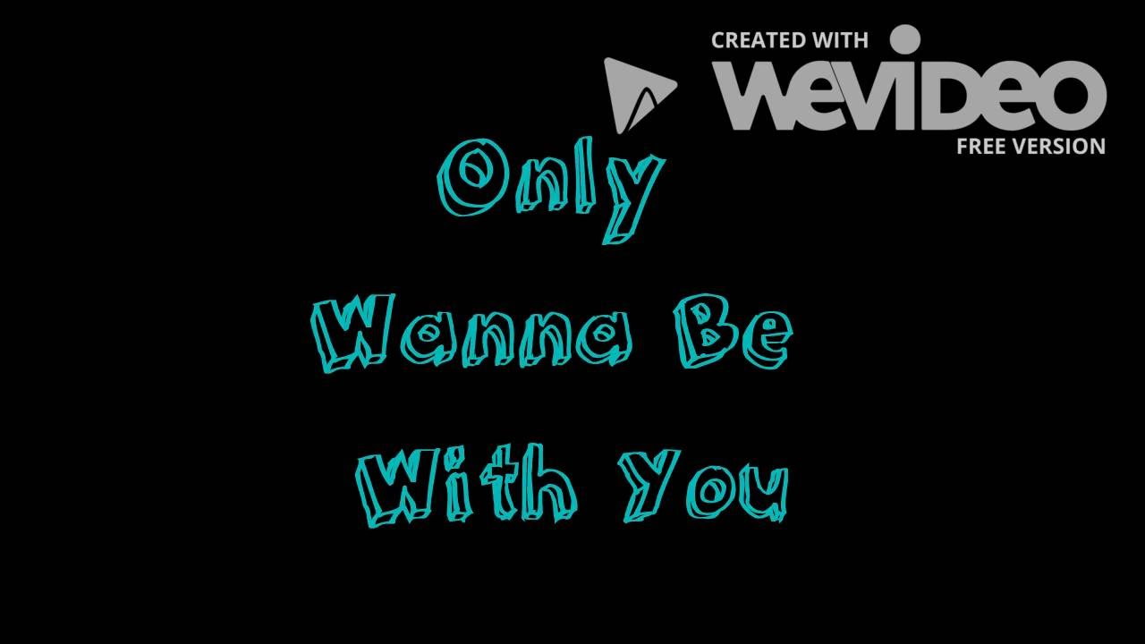 Only Wanna Be With You - Hootie and the Blowfish - Lyrics