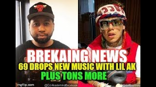 TEKASHI 69 : BREAKING NEWS :69'S NEW MUSIC WITH LIL AK ! PLUS A TON MORE