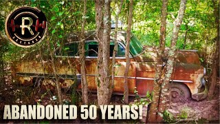 ABANDONED Vehicles RESCUED From Swamp After 50 YEARS! | Forgotten Memories Turnin To Rust | RESTORED