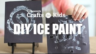 DIY Ice Paint | Crafts for Kids | PBS Parents