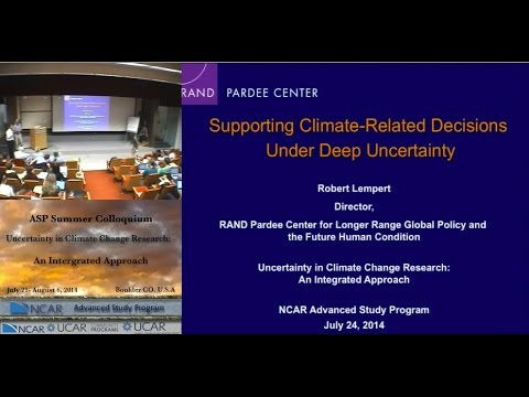 Supporting Climate-Related Decisions Under Deep Uncertainty