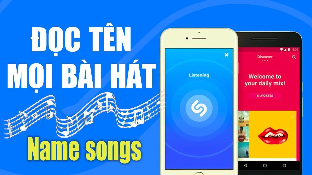 App tìm tên bài hát chỉ cần nghe nhạc