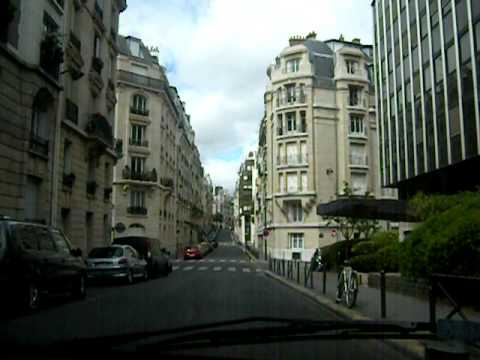 sunday drive in the 16th arrondissement paris france youtube. Black Bedroom Furniture Sets. Home Design Ideas