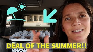 Discount Store Shopping |  DEAL OF THE SUMMER!!!!!