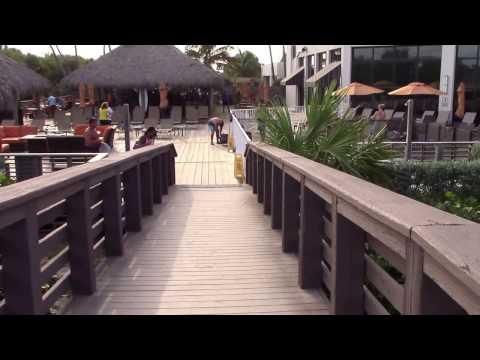 Hilton Cocoa Beach Pool Area