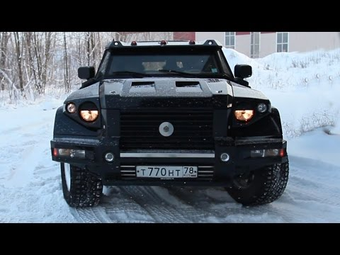 Российский Броневик Комбат Т-98.