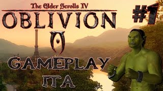 The Elder Scrolls IV: Oblivion - Gameplay Ita #1 - Fuga dalla Prigione