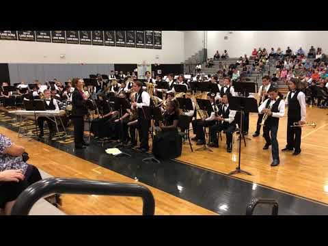 Lake Nona Middle School Jazz Band - Spring 2018 Concert - Crazy Train