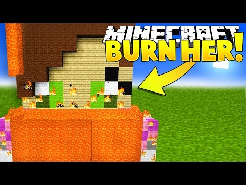 BURNING POPULARMMOS IS MINECRAFT?!